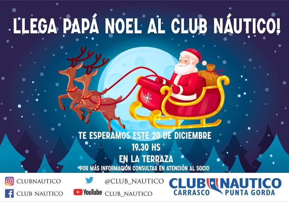 Pap? Noel en el Club